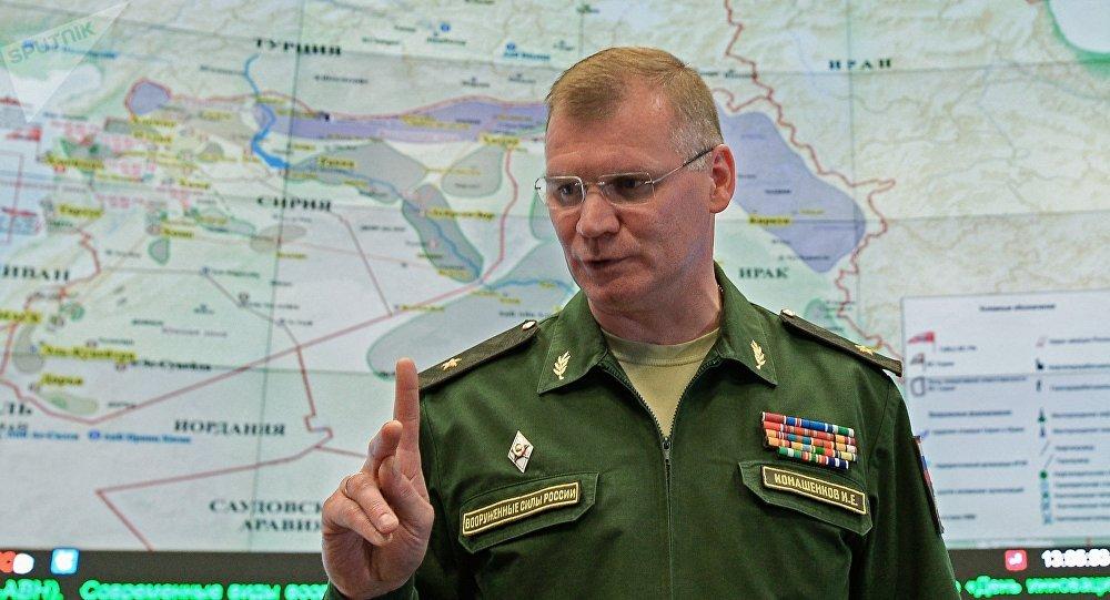 俄羅斯國防部新聞發言人伊戈爾·卡納申科夫