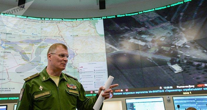 俄罗斯国防部发言人伊戈尔·科纳申科夫