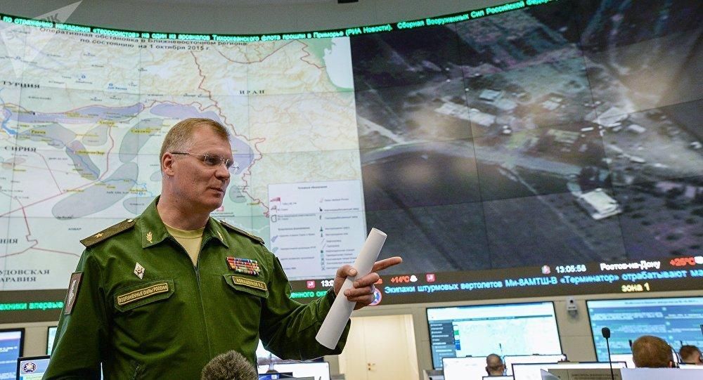 俄羅斯國防部發言人伊戈爾·科納申科夫