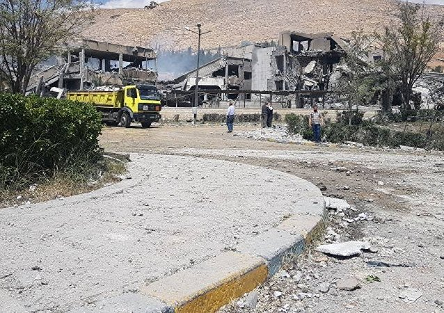 俄外交部稱,美英法對敘空襲充分證明瞭對武裝分子的支持