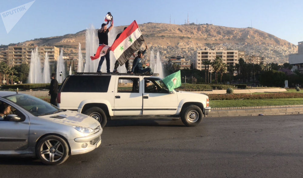 以美国为首的联盟对叙利亚实施军事打击