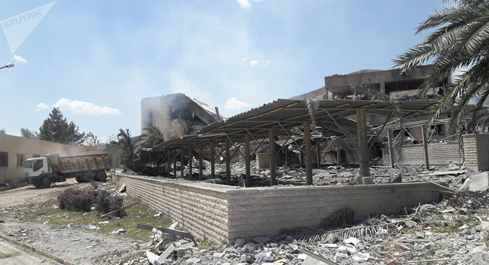中国专家:美国和西方国家对叙利亚的行动可视之为侵略