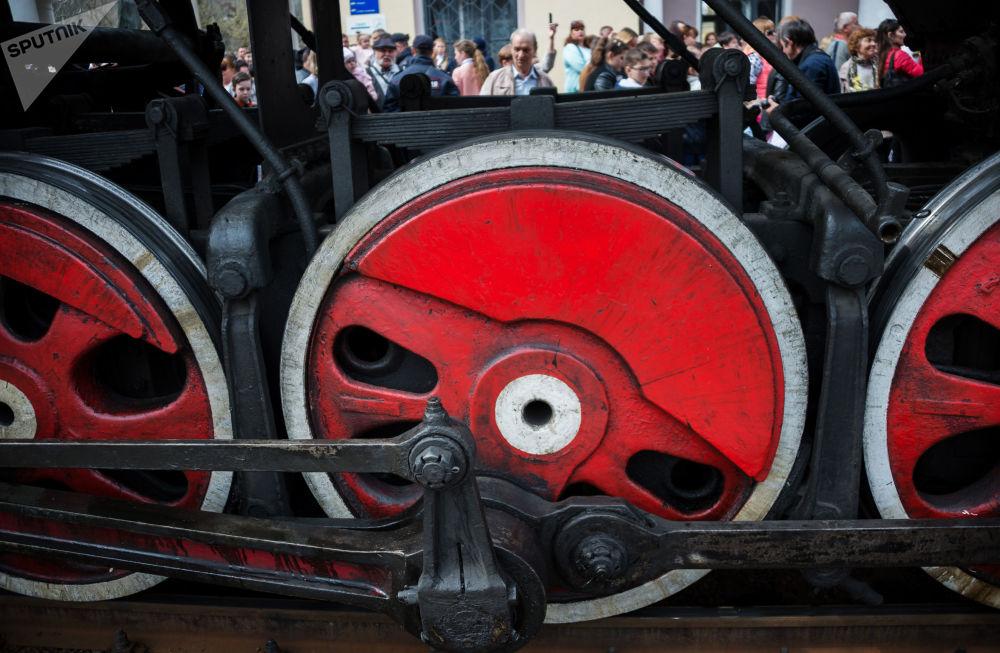 愛國活動「勝利列車」進入克里米亞