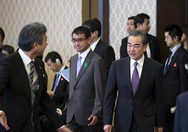中国外交部:王毅访日为中日两国下一步高层接触创造条件