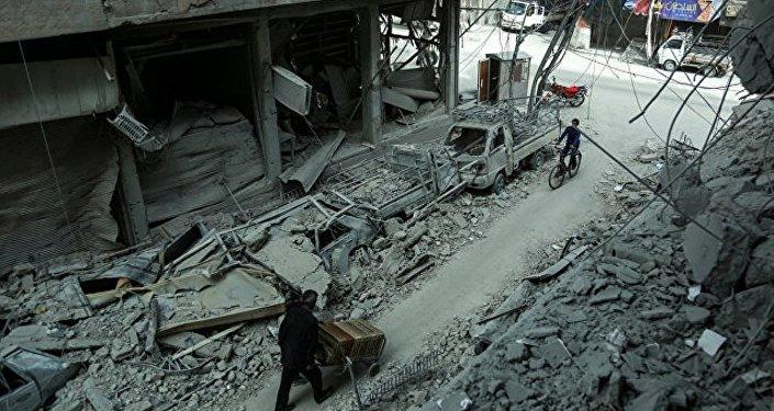 俄驻叙调解中心愿为禁化武组织专家提供护卫