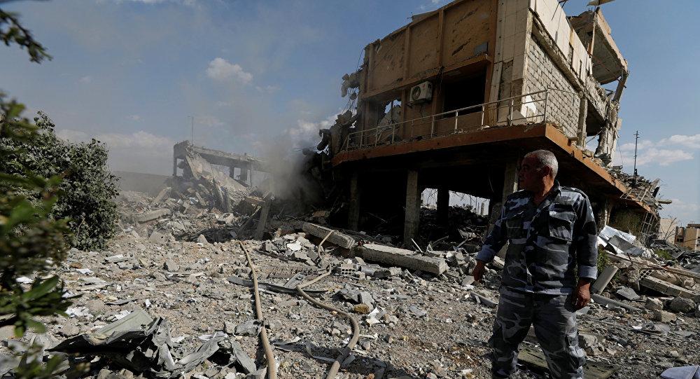 俄常驻禁化武组织代表质疑西方对叙利亚的打击成果