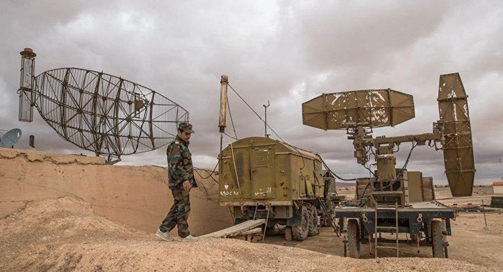 叙利亚国防空部队击落10枚飞向沙伊拉特空军基地的导弹