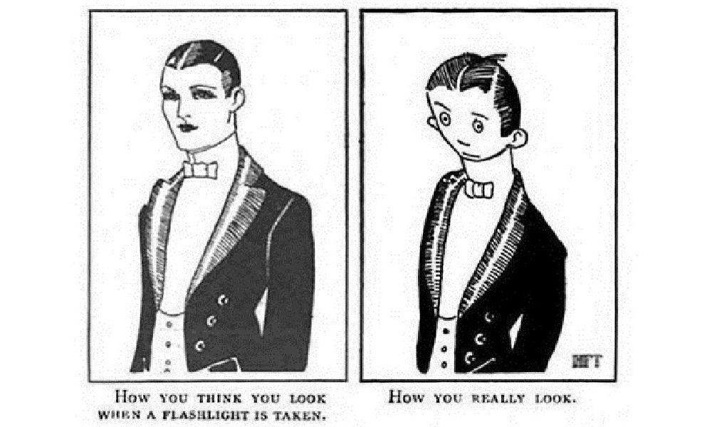 网友发现原来100年前就有恶搞图片!