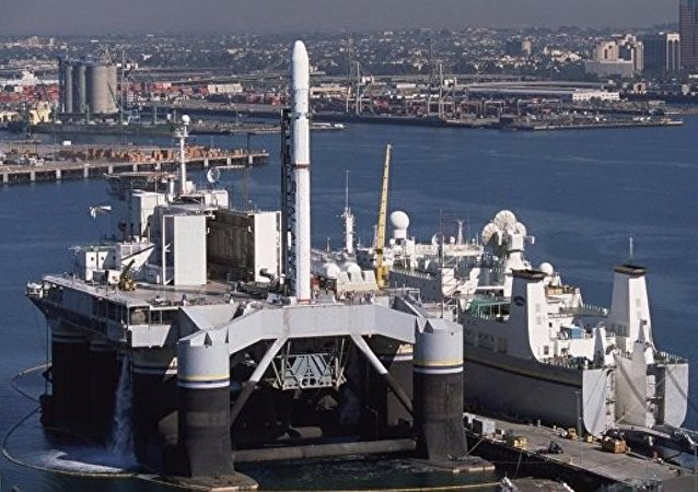 """俄S7 Space公司:""""海上发射""""浮动平台收购交易已完成"""