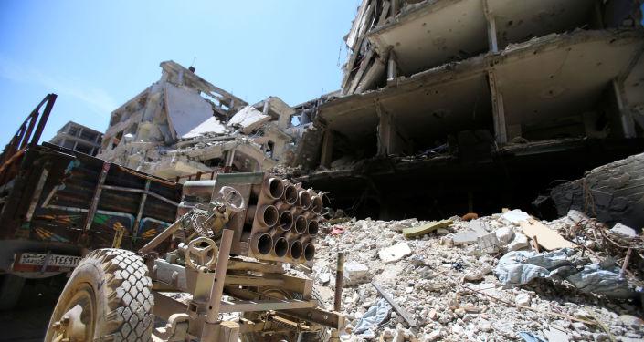 消息人士:世衛組織代表團在敘衛生部長陪同下進入杜馬鎮