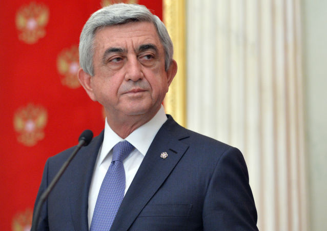 亞美尼亞前總統薩爾基相當選總理
