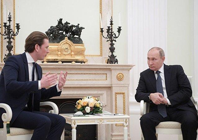 俄奥领导人讨论叙局势