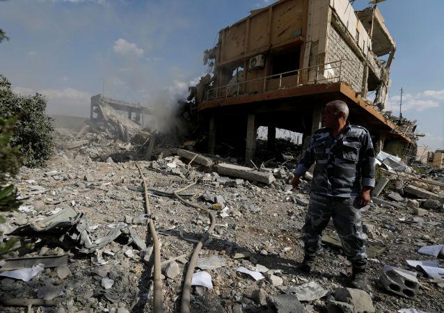 如果出现新化武袭击 美国将再次打击叙利亚