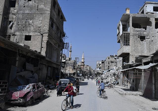 俄防长:目前叙利亚重建所需一切条件都已具备