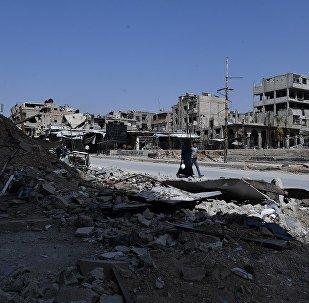 伊拉克總理辦公室:伊空軍對敘伊邊境IS陣地實施打擊