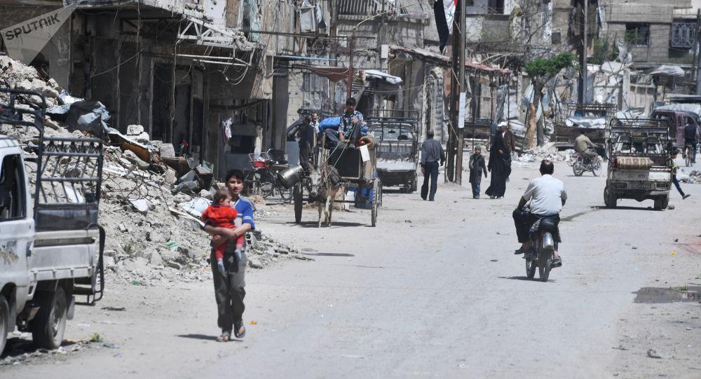 叙利亚杜马镇
