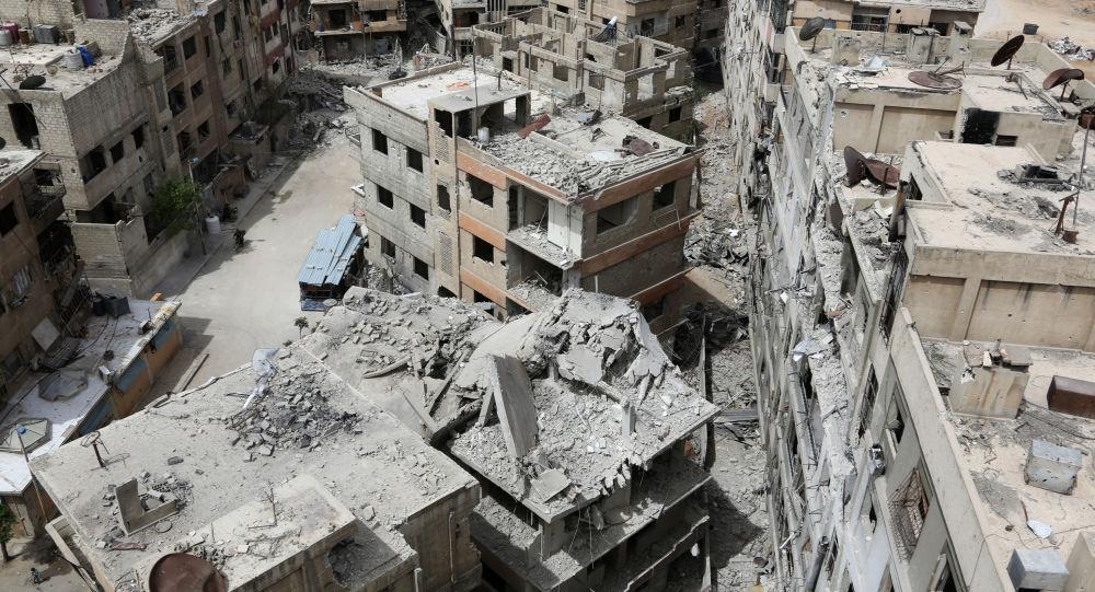俄外交部:俄方未在叙杜马镇找到任何化武袭击迹象或受害者