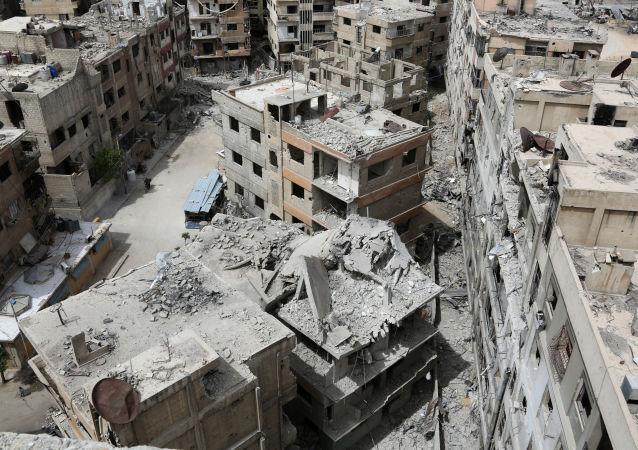 禁化武组织调查团再次进入叙利亚杜马镇