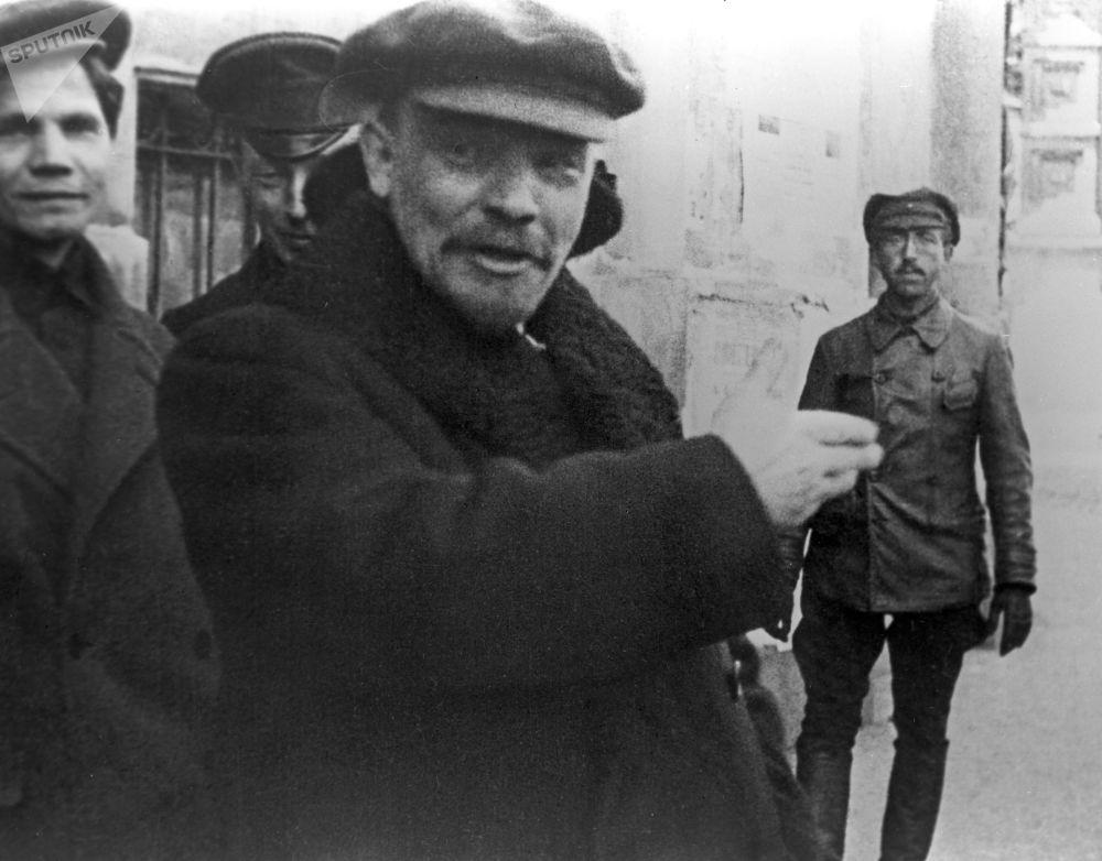 弗拉基米爾·列寧,莫斯科,1919年