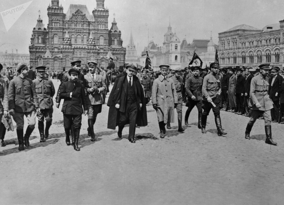 弗拉基米爾·列寧,莫斯科,1919年5月25日