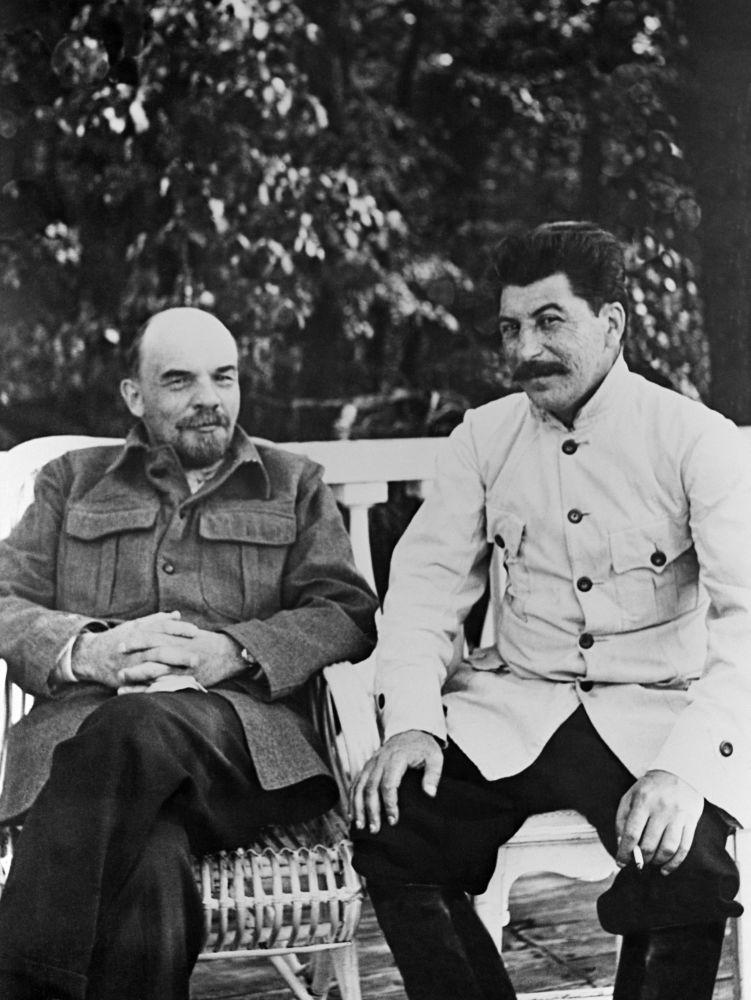 列寧與斯大林