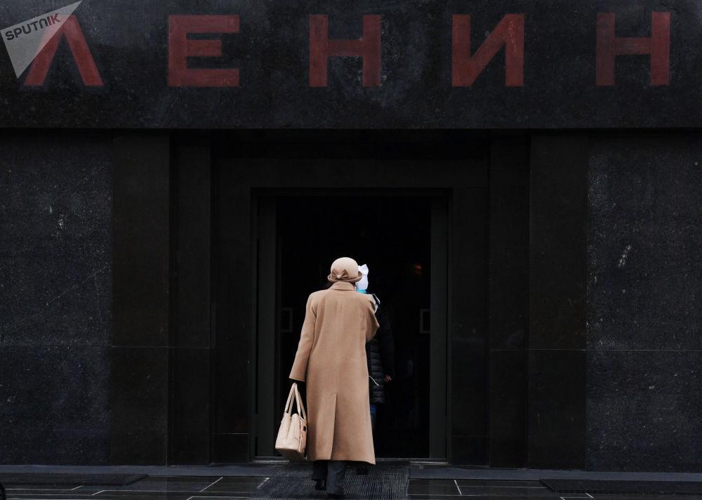 紅場上的列寧墓