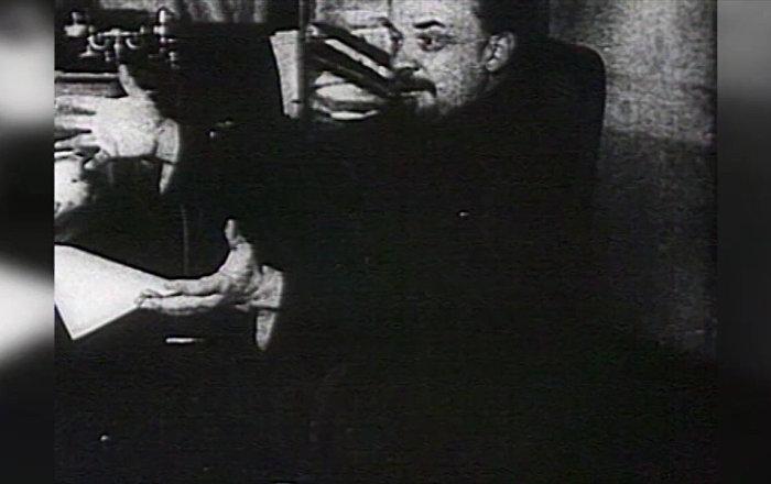 蘇聯締造者弗拉基米爾·烏里揚諾夫(列寧)