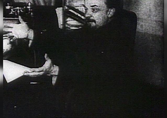 苏联缔造者弗拉基米尔·乌里扬诺夫(列宁)
