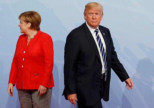 德国政府:德美领导人或将讨论俄罗斯的行为