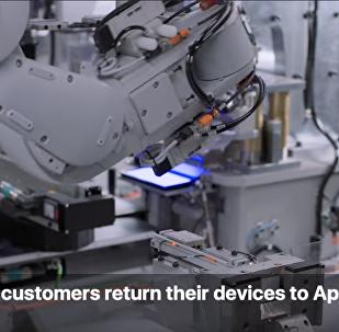 苹果发布回收机器人 用于拆解iPhone