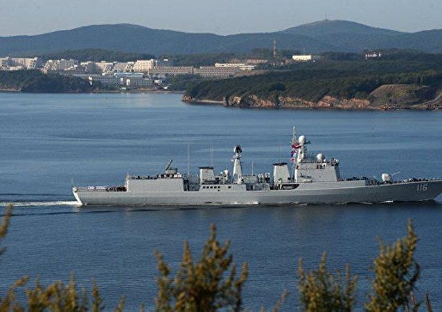 中国国防部:美国防部罔顾事实意在把南海的水搅浑为自身军事存在制造借口