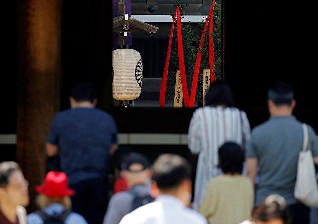 日政要参拜靖国神社做法再次反映日方对待侵略历史的错误态度