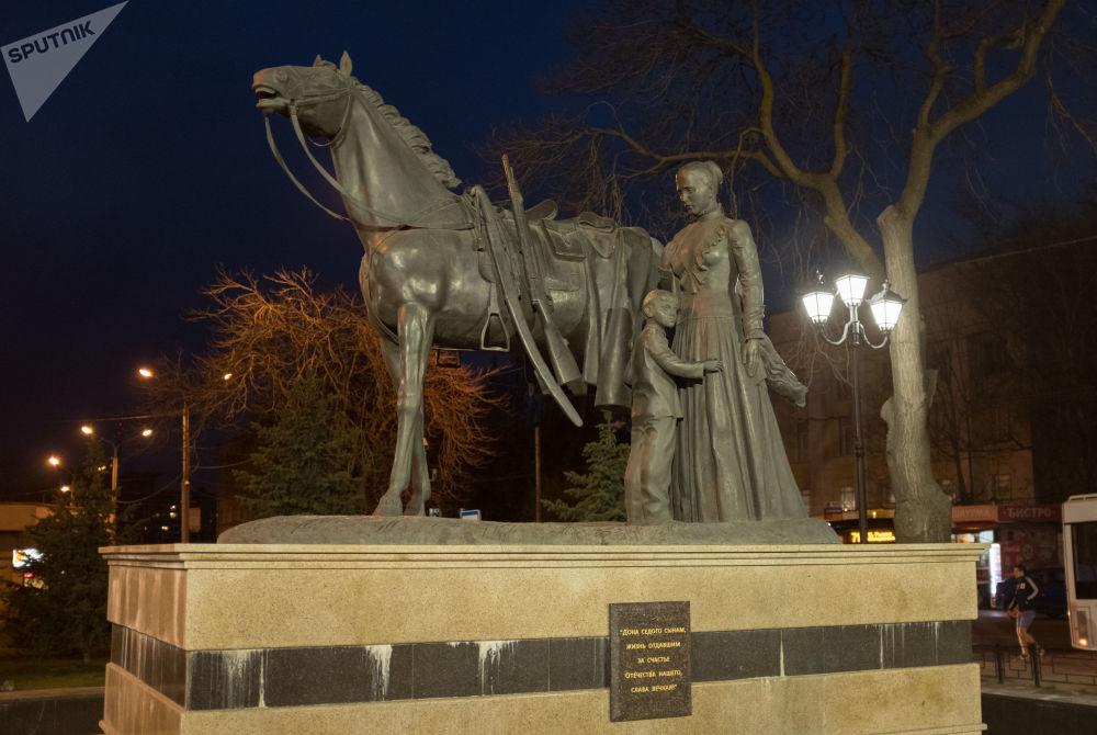 顿河畔罗斯托夫哥萨克卫国烈士纪念碑
