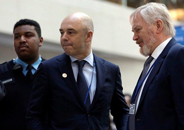 俄财长在华盛顿会见外国投资者