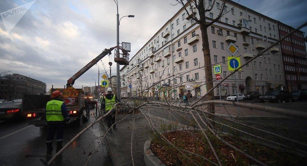 莫斯科飓风来袭