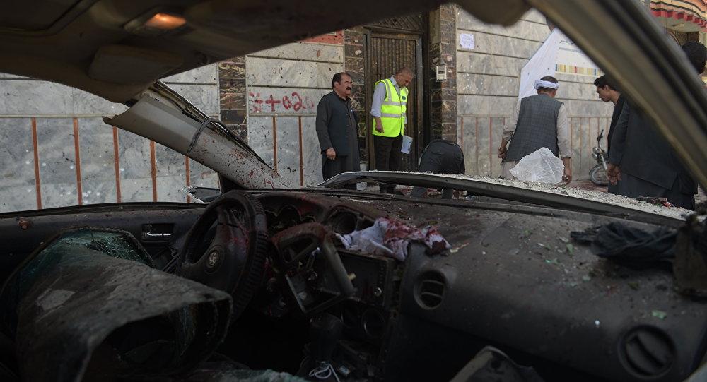 喀布尔爆炸致死人数增至31人,50多人受伤。