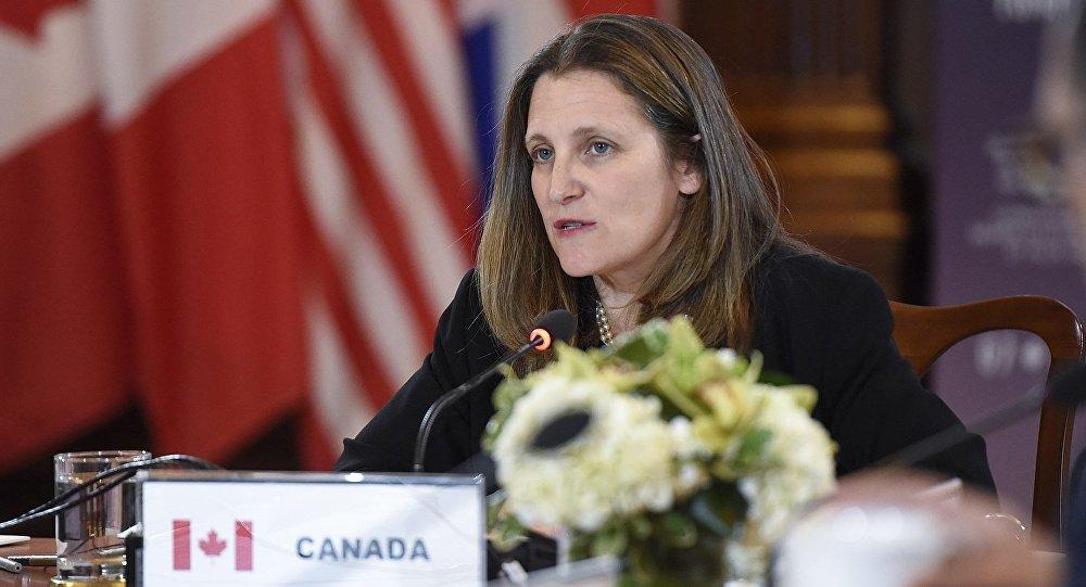 加拿大外長弗里蘭德