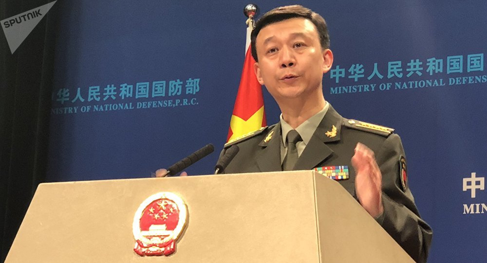 中国国防部:中国空军多型多架战机绕飞台湾岛