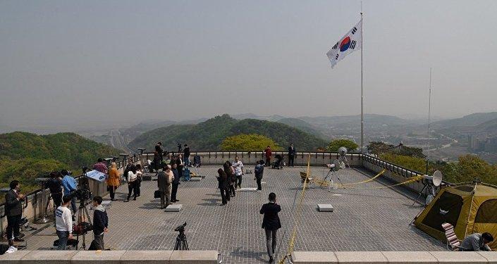 首尔接受朝鲜有关5月16日举行高层会谈的提议