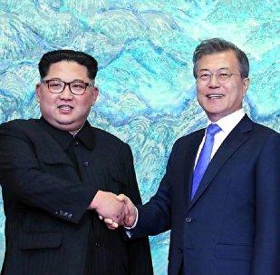 朝鮮最高領導人金正恩呼籲終結朝鮮半島對峙的歷史