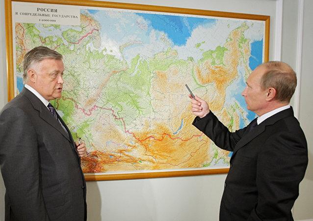 普京责成绘制全新世界地图集