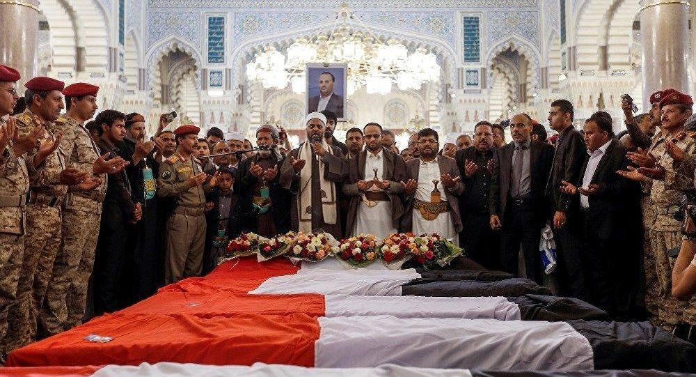 阿拉伯联军空袭萨那致38名胡塞武装人员死亡