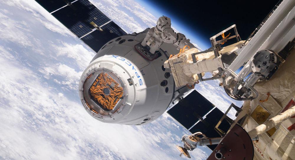 """美国货运""""龙""""号飞船将于1月11日脱离国际空间站"""