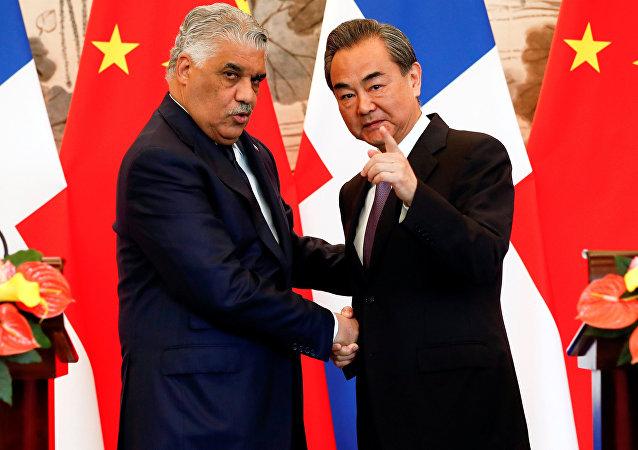 中國與多米尼加共和國讓台灣極其憤怒