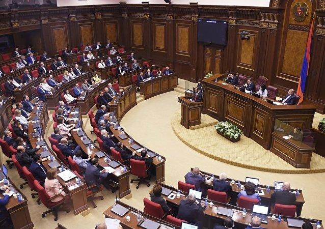 亚美尼亚议会执政党成员辞职前往中国成为贸易代表