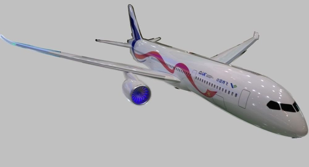 中俄宽体客机CR929