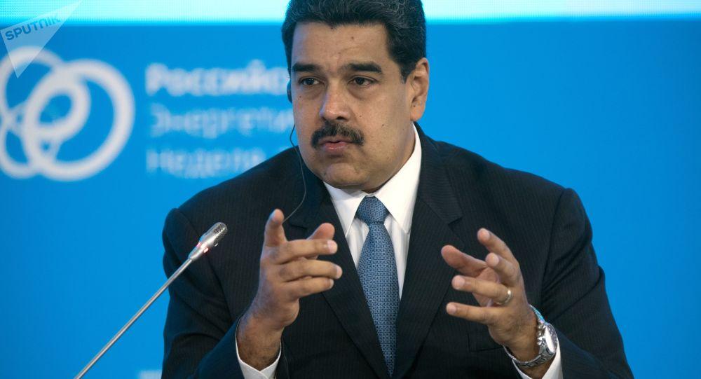马杜罗:美国政府计划在委内瑞拉发动军事政变