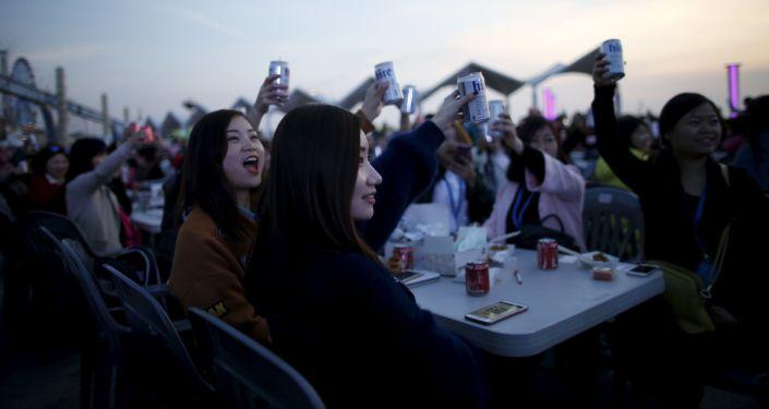 世界杯臨近 中國5月啤酒銷量翻番