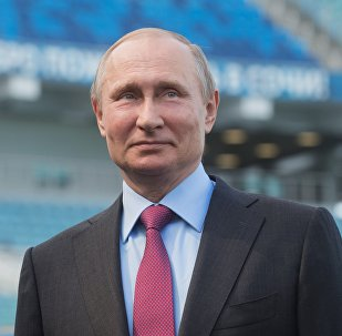 普京很高兴俄罗斯国家队世界杯赛场击败埃及队