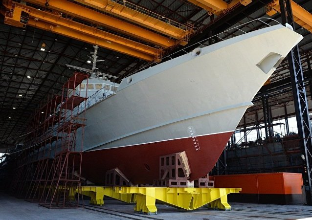 「颶風」號導彈艦將於五月中旬在拉多加湖試航